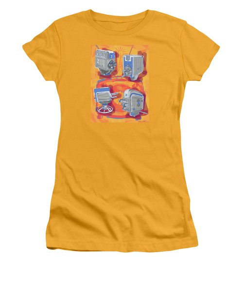 Remembering Television Women's T-Shirt (Athletic Fit)