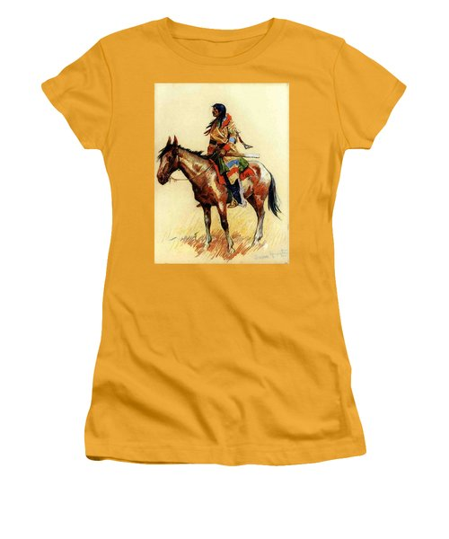 Remington Frederic A Breed Women's T-Shirt (Athletic Fit)