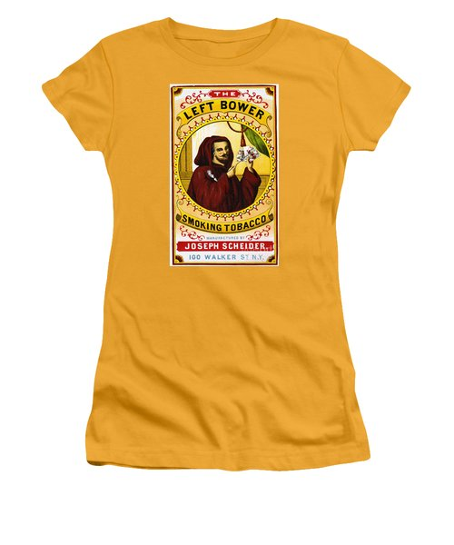 Retro Tobacco Label 1869 C Women's T-Shirt (Athletic Fit)