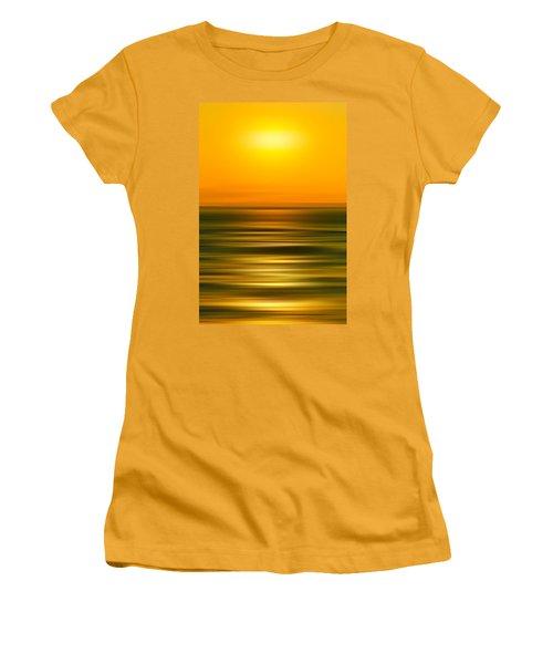 Rising Sun Women's T-Shirt (Junior Cut) by Az Jackson
