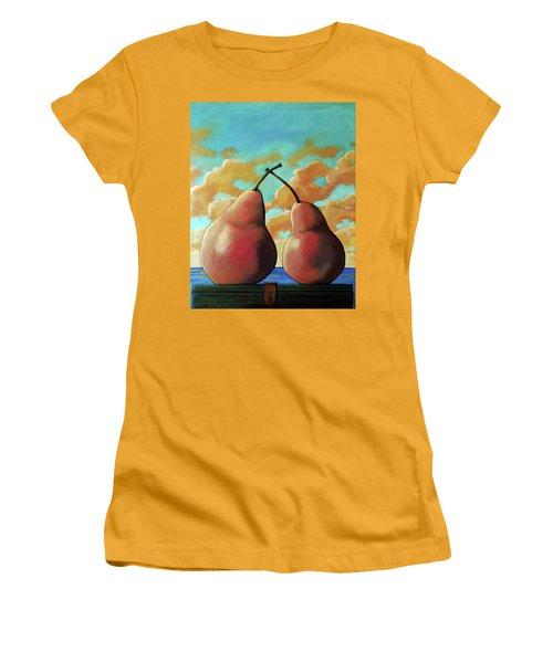 Romantic Pear Women's T-Shirt (Athletic Fit)