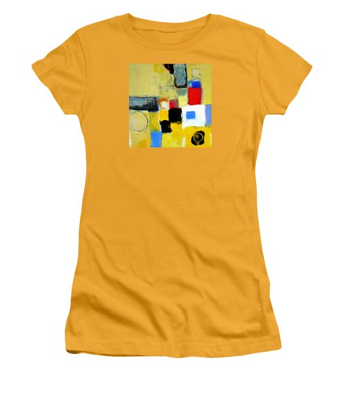 Women's T-Shirt (Junior Cut) featuring the painting Ron The Rep by Cliff Spohn