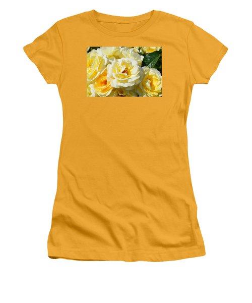 Rose Bush Women's T-Shirt (Athletic Fit)