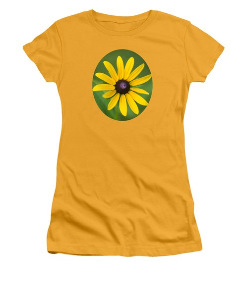Rudbeckia Flower Women's T-Shirt (Junior Cut) by Christina Rollo