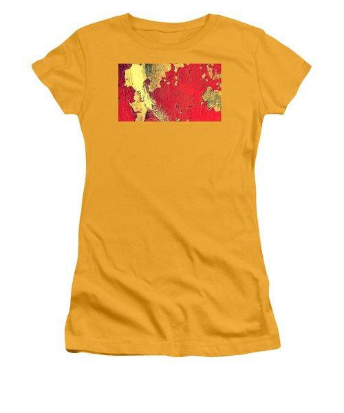 Rust Women's T-Shirt (Junior Cut) by Paulo Guimaraes