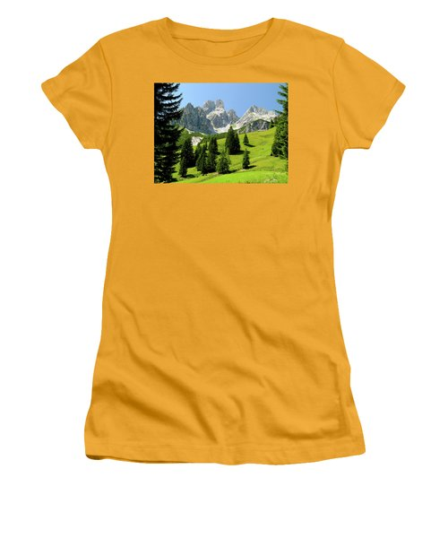 Sacred Land Women's T-Shirt (Athletic Fit)