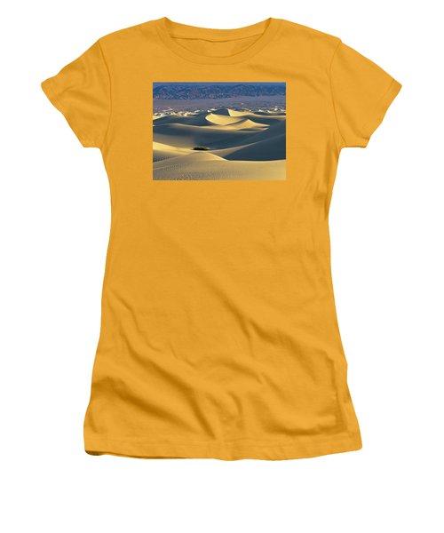 Sand Dunes Sunrise Women's T-Shirt (Athletic Fit)