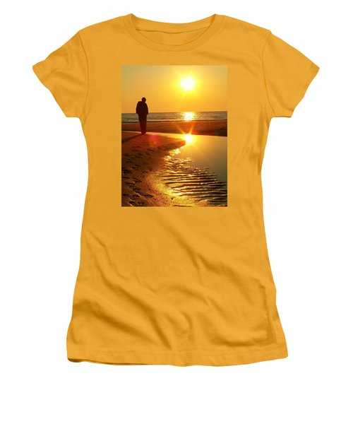 Serenity Women's T-Shirt (Junior Cut) by Trish Tritz