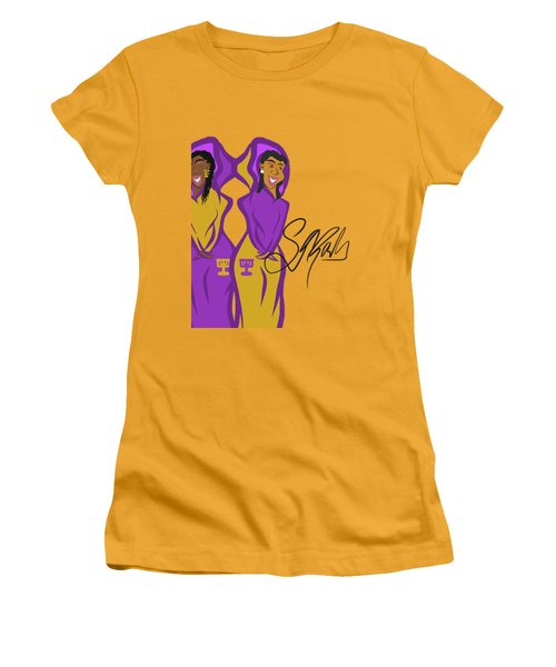 Shalom Sistas Women's T-Shirt (Athletic Fit)