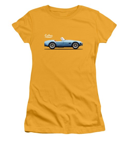 Shelby Cobra 289 1964 Women's T-Shirt (Junior Cut) by Mark Rogan