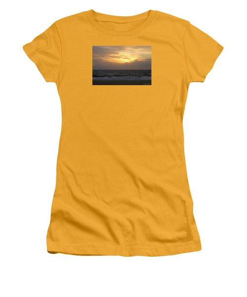 Women's T-Shirt (Junior Cut) featuring the photograph Shining Clouds by Robert Banach