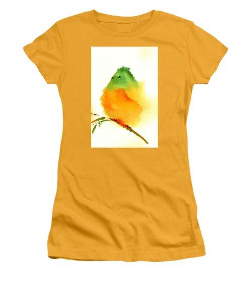 Silly Bird  #3 Women's T-Shirt (Junior Cut) by Anne Duke