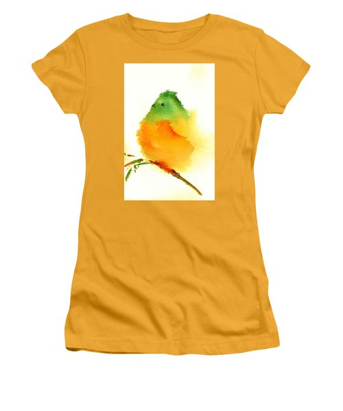 Silly Bird  #3 Women's T-Shirt (Athletic Fit)