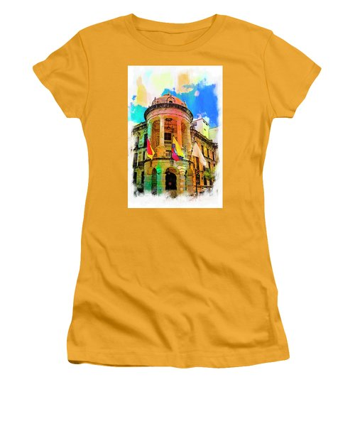 Silly Hall, Cuenca, Ecuador Women's T-Shirt (Athletic Fit)