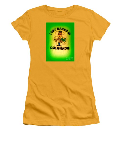 So High Too Women's T-Shirt (Junior Cut) by Kelly Awad