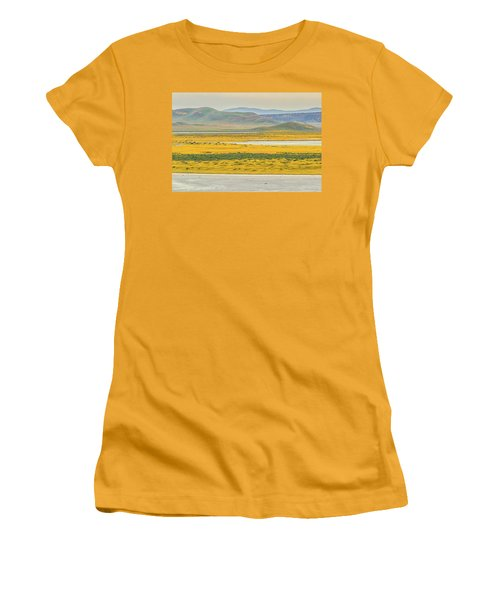 Soda Lake To Caliente Range Women's T-Shirt (Junior Cut) by Marc Crumpler