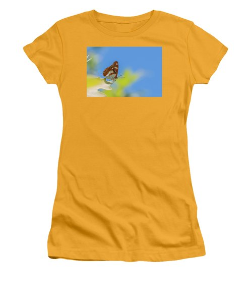 Southern White Admiral - Limenitis Reducta Women's T-Shirt (Athletic Fit)