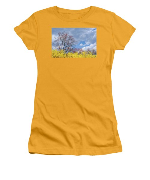 Women's T-Shirt (Junior Cut) featuring the photograph Spring 2017 by Bill Wakeley