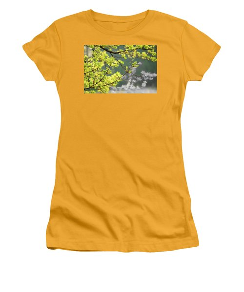 Spring In The Arboretum Women's T-Shirt (Junior Cut) by Joni Eskridge