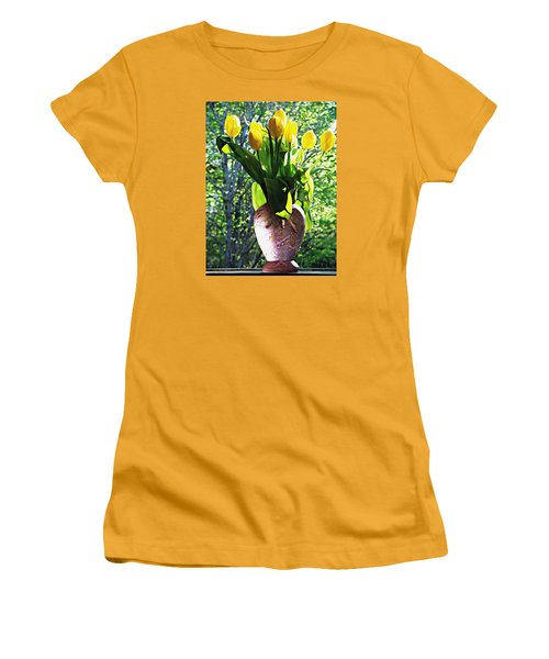 Spring Women's T-Shirt (Junior Cut) by Joy Nichols