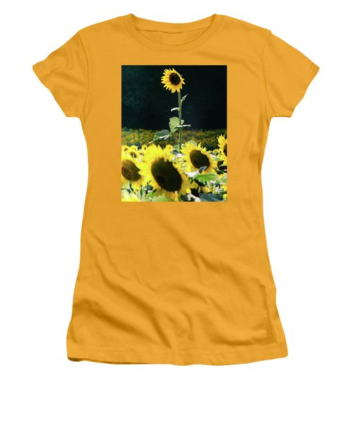 Women's T-Shirt (Athletic Fit) featuring the photograph Stand Out 2 by Andrea Anderegg