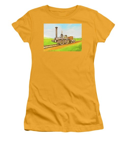 Steam Engine Mississippi Women's T-Shirt (Athletic Fit)