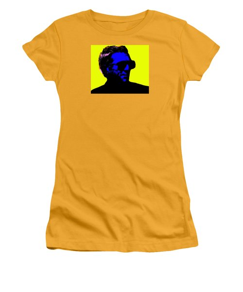 Steve Mcqueen Women's T-Shirt (Junior Cut) by Emme Pons
