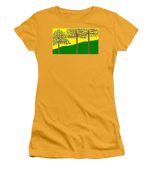 Summer Stained Glass 2 Women's T-Shirt (Athletic Fit)