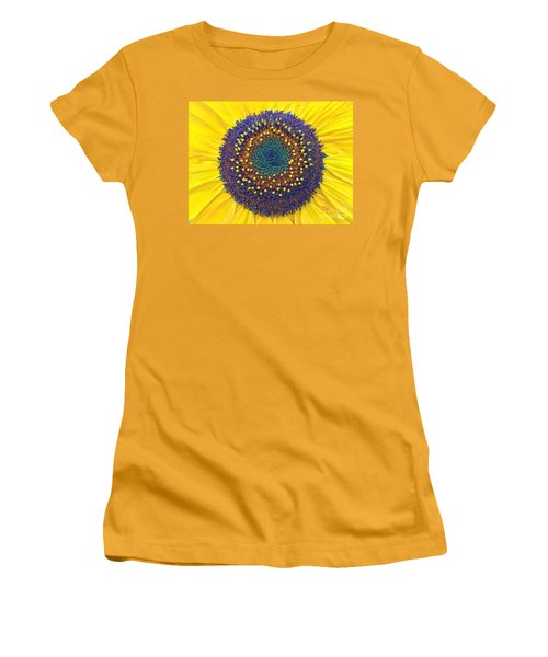 Summer Sunflower Women's T-Shirt (Athletic Fit)