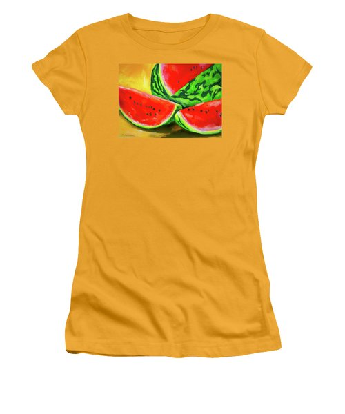 Summertime Delight Women's T-Shirt (Athletic Fit)