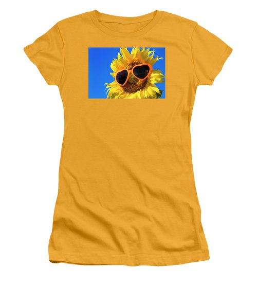 Summertime Women's T-Shirt (Junior Cut) by Teri Virbickis