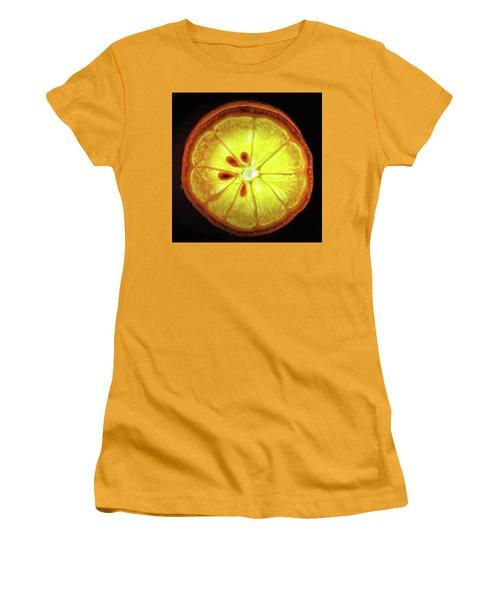 Sun Lemon Women's T-Shirt (Athletic Fit)