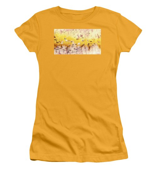 Women's T-Shirt (Junior Cut) featuring the photograph Sun Shower by William Wyckoff