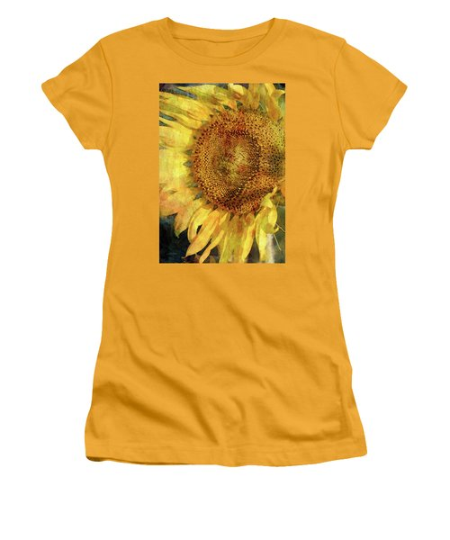 Sunflower 2254 Idp_2 Women's T-Shirt (Athletic Fit)