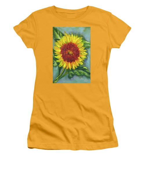 Sunflower Seed Packet Women's T-Shirt (Athletic Fit)