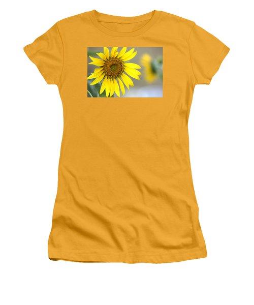 Women's T-Shirt (Junior Cut) featuring the photograph Sunflower by Sheila Brown