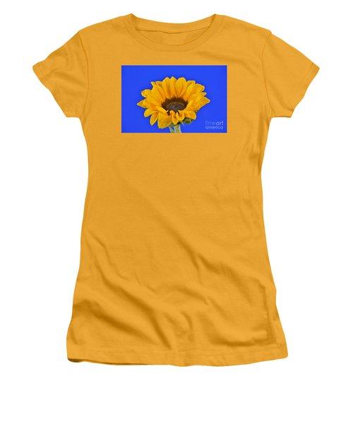 Sunflower Sunshine 406-6 Women's T-Shirt (Junior Cut) by Ray Shrewsberry