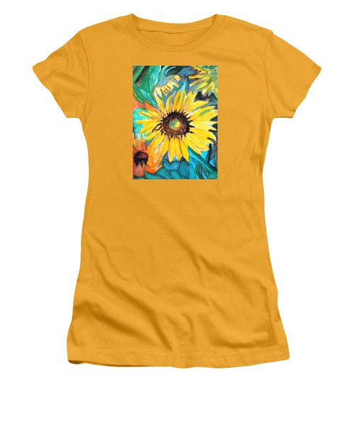 Sunflowers 7 Women's T-Shirt (Athletic Fit)
