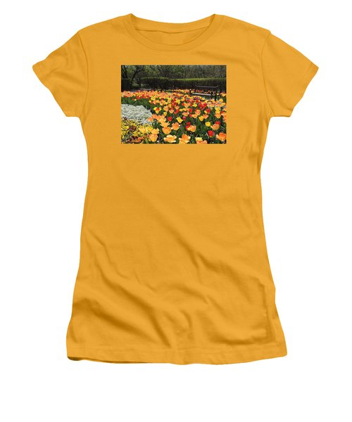 Sunny Days Women's T-Shirt (Junior Cut) by Teresa Schomig