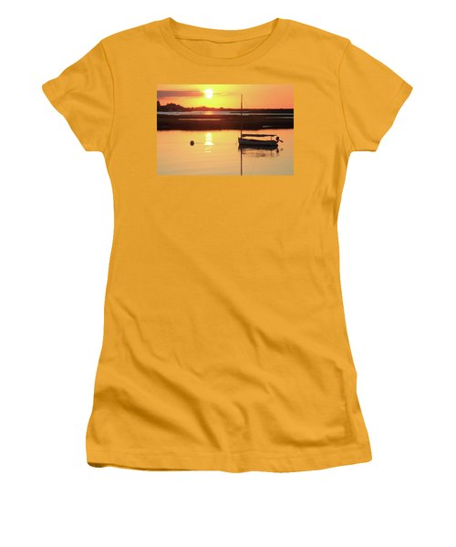 Sunrise At Bass River Women's T-Shirt (Junior Cut) by Roupen  Baker