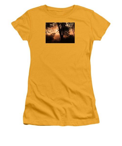Sunrise In The Marsh 3 Women's T-Shirt (Junior Cut) by Joni Eskridge