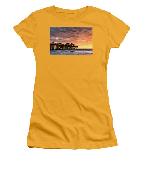 Sunset At Ruby's Women's T-Shirt (Athletic Fit)