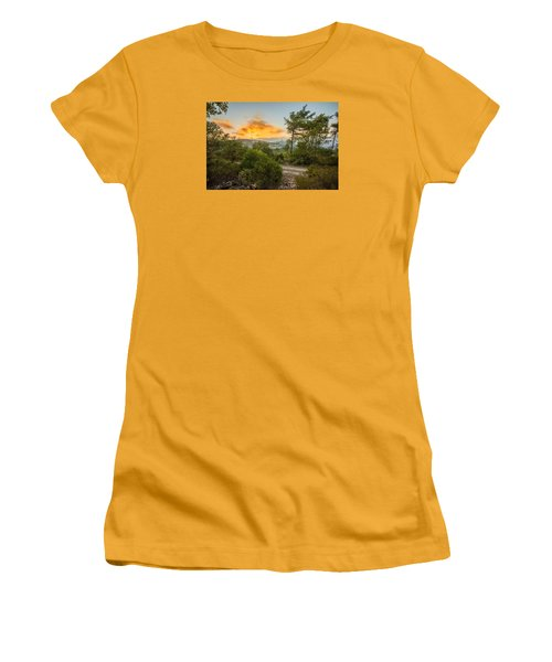 Sunset On Carmel Mountain 2 Women's T-Shirt (Athletic Fit)