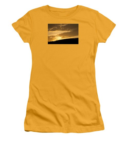 Sunset On Hunton Lane #4 Women's T-Shirt (Athletic Fit)