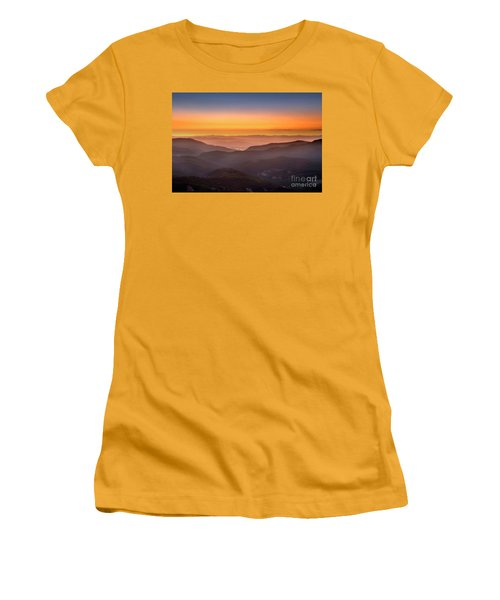 Sunset Point Women's T-Shirt (Athletic Fit)