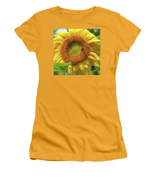 Sunshine In The Garden 1 Women's T-Shirt (Junior Cut) by Brooks Garten Hauschild
