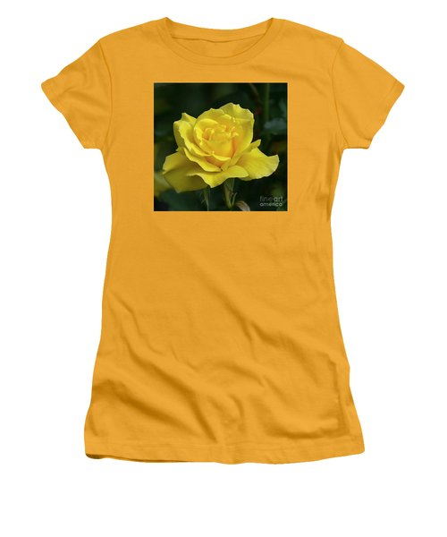 Sunsprite Rose 2 Women's T-Shirt (Athletic Fit)