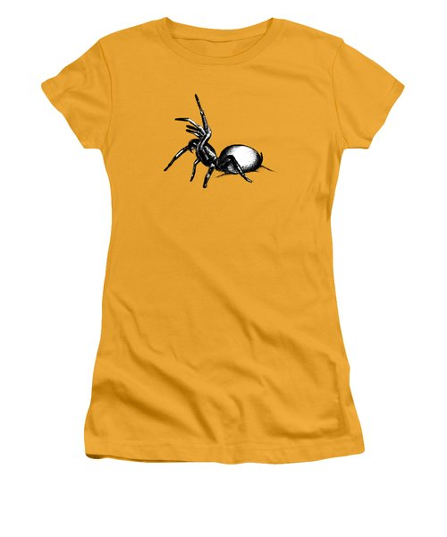 Sydney Funnel Web Women's T-Shirt (Junior Cut) by Nicholas Ely