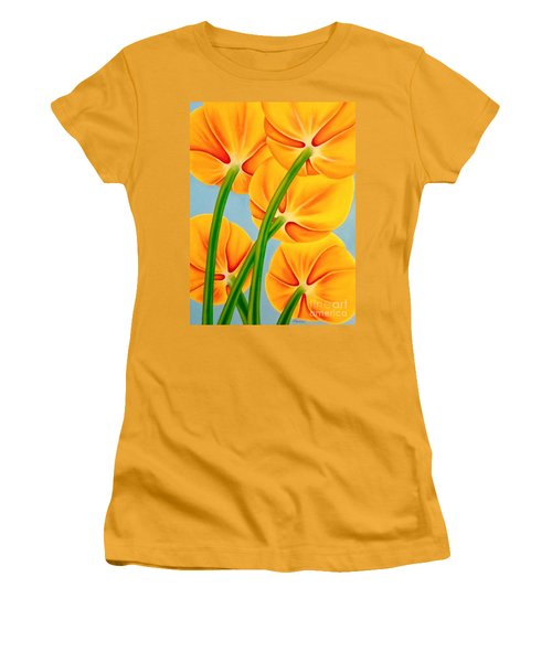 Tangerine Women's T-Shirt (Athletic Fit)