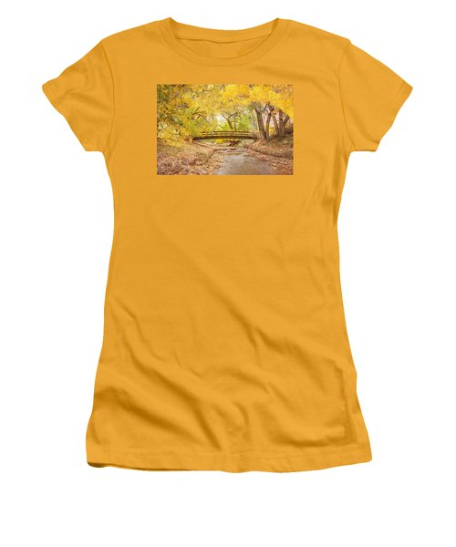 Teasdale Bridge Women's T-Shirt (Athletic Fit)